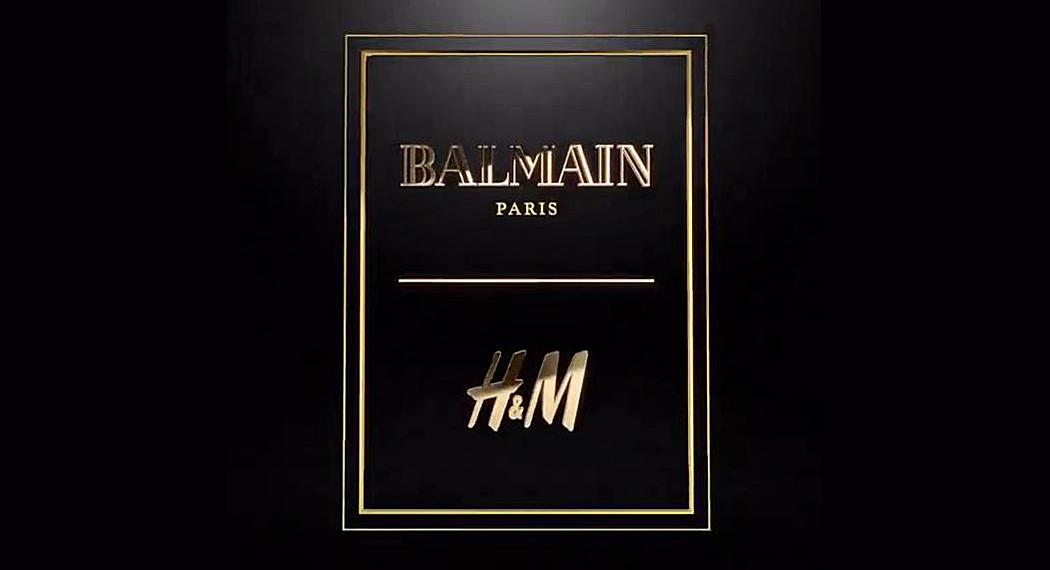 H&M: collaborazione con la casa di moda francese Balmain