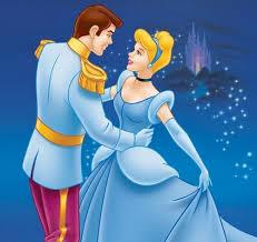 La principessa e il principe nelle fiabe