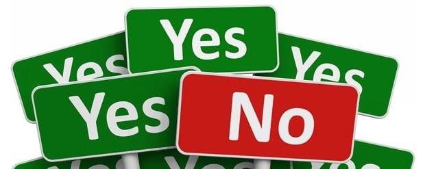 Impariamo a dire no!