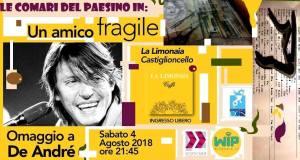 """Intervista a Luca Bellofiore, organizzatore di """"Un amico fragile"""", Sabato 4 a Castiglioncello"""