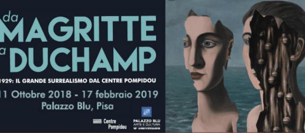 Da Magritte a Duchamp… il surrealismo dal Centre Pompidou