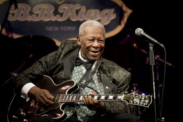 B.B. King: me and Lucille.
