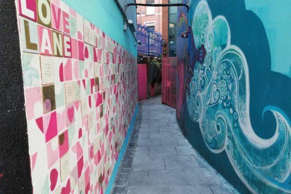 Il vicolo dell'Amore – Una piccola perla nascosta di Dublino per San Valentino