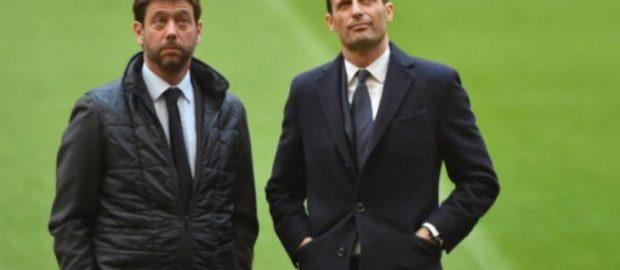 Juventus, vicino il momento dell'incontro fra Allegri ed Agnelli