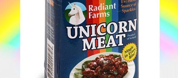 Unicorno in scatola