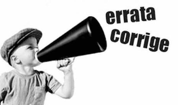 ERRATA CORRIGE – Perché fidarsi degli storici? – Le Storie di Ieri