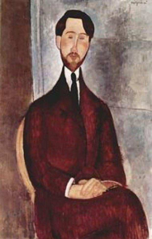 ritratto di léopold zborowski
