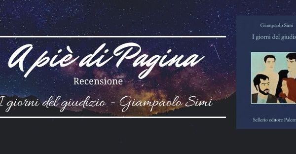 """Recensione """"I giorni del giudizio"""", Giampaolo Simi"""