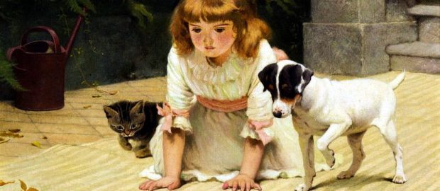 Charles Burton Barber – il pittore dei bambini e degli animali