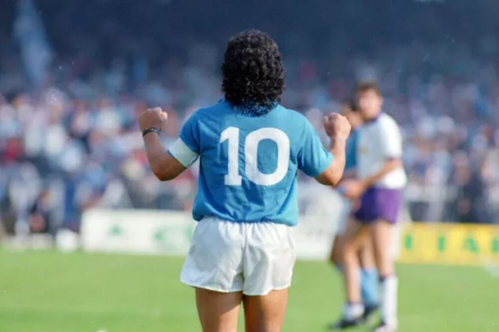 Diego Armando Maradona per un classe '86