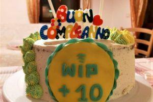 Buon compleanno WIP: una torta tutta per te!