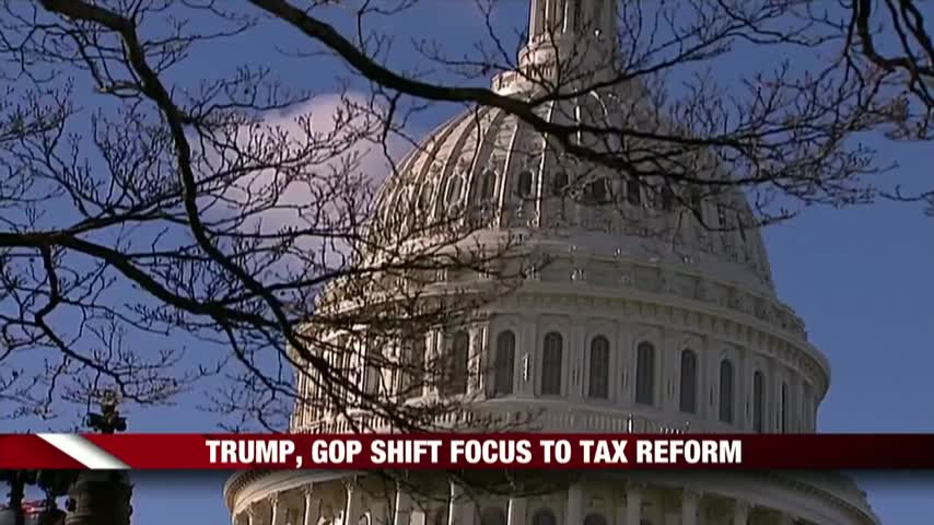 GOP Shifts Focus To Tax Reform_19472120