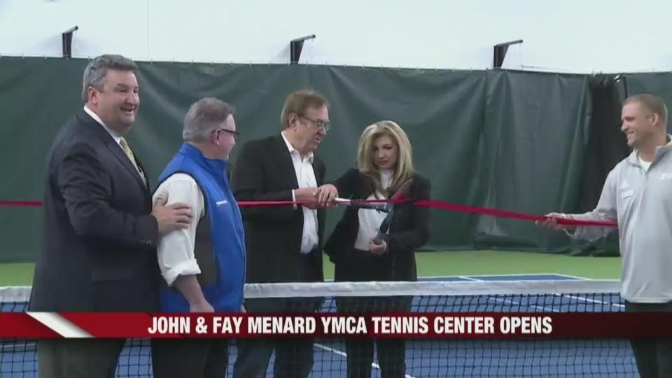 John & Fay Menard YMCA Tennis Center Opens