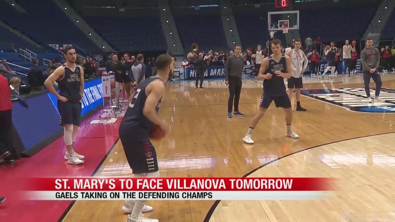 St. Mary's to face Villanova on Thursday