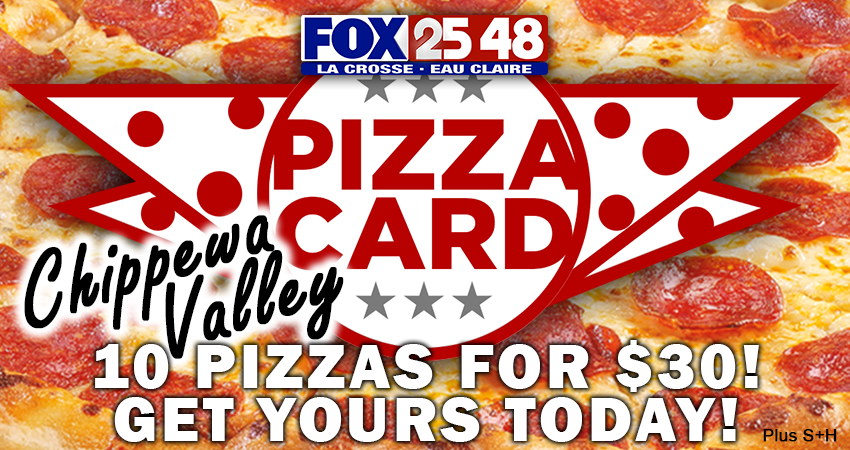 Chippewa Valley Pizza Card