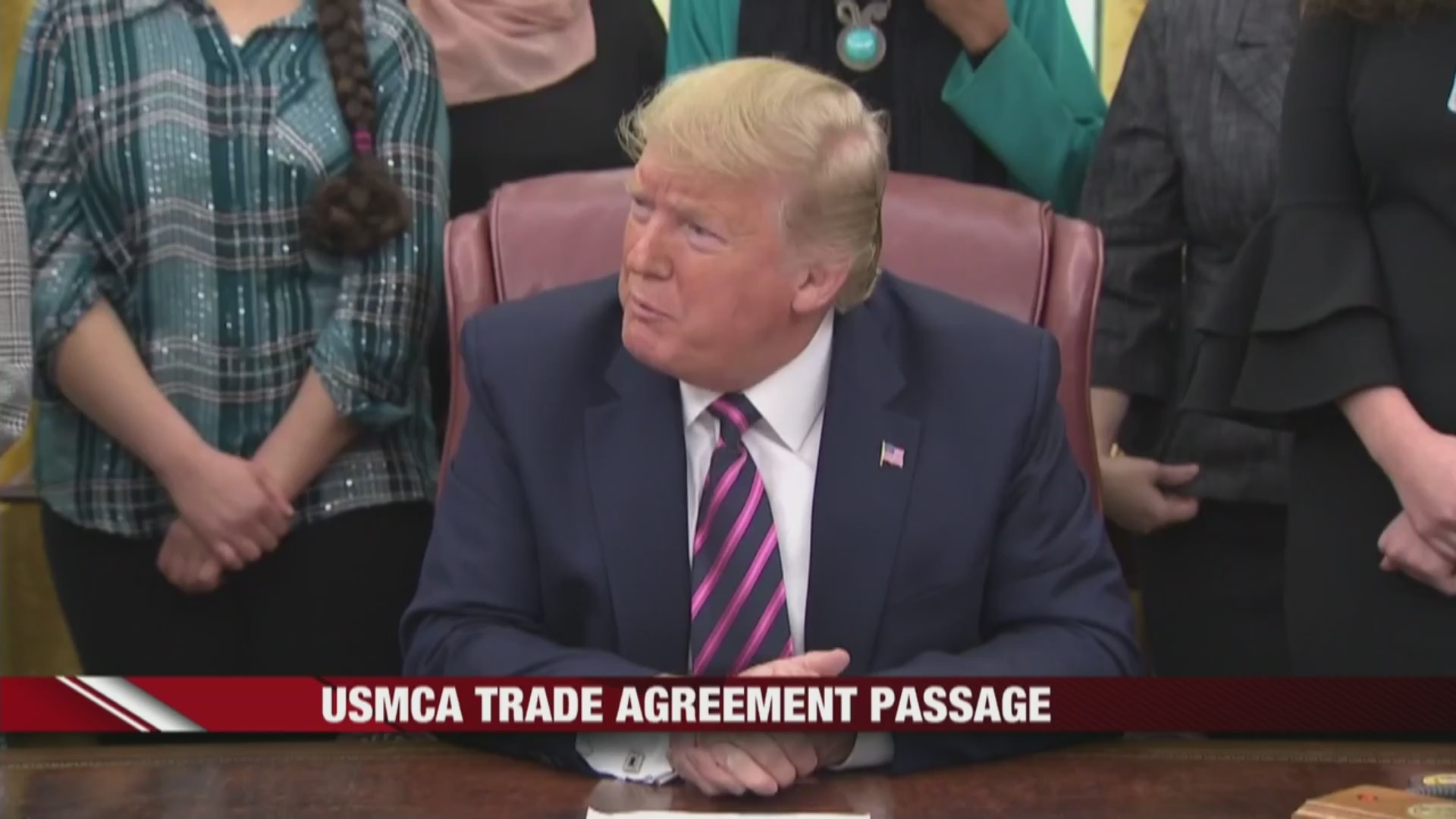 USMCA Trade Agreement passes with largely bipartisan support