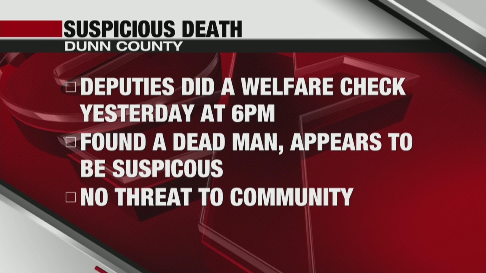 Welfare check turns into a death investigation in Colfax