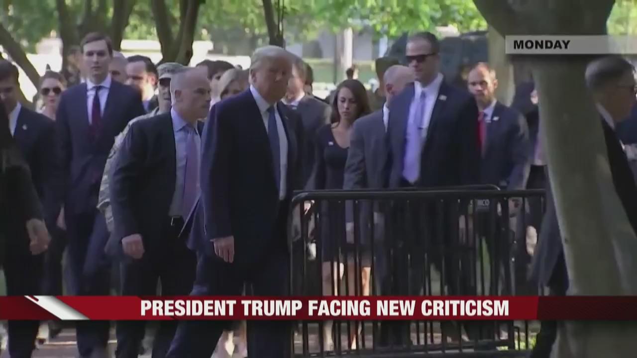 President Trump Facing New Criticism