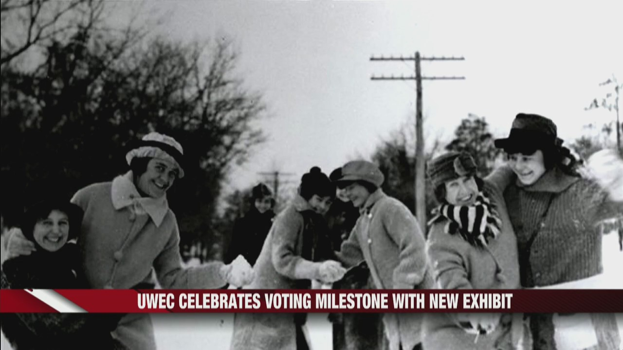 UW-Eau Claire celebrated voting milestone with new virtual exhibit