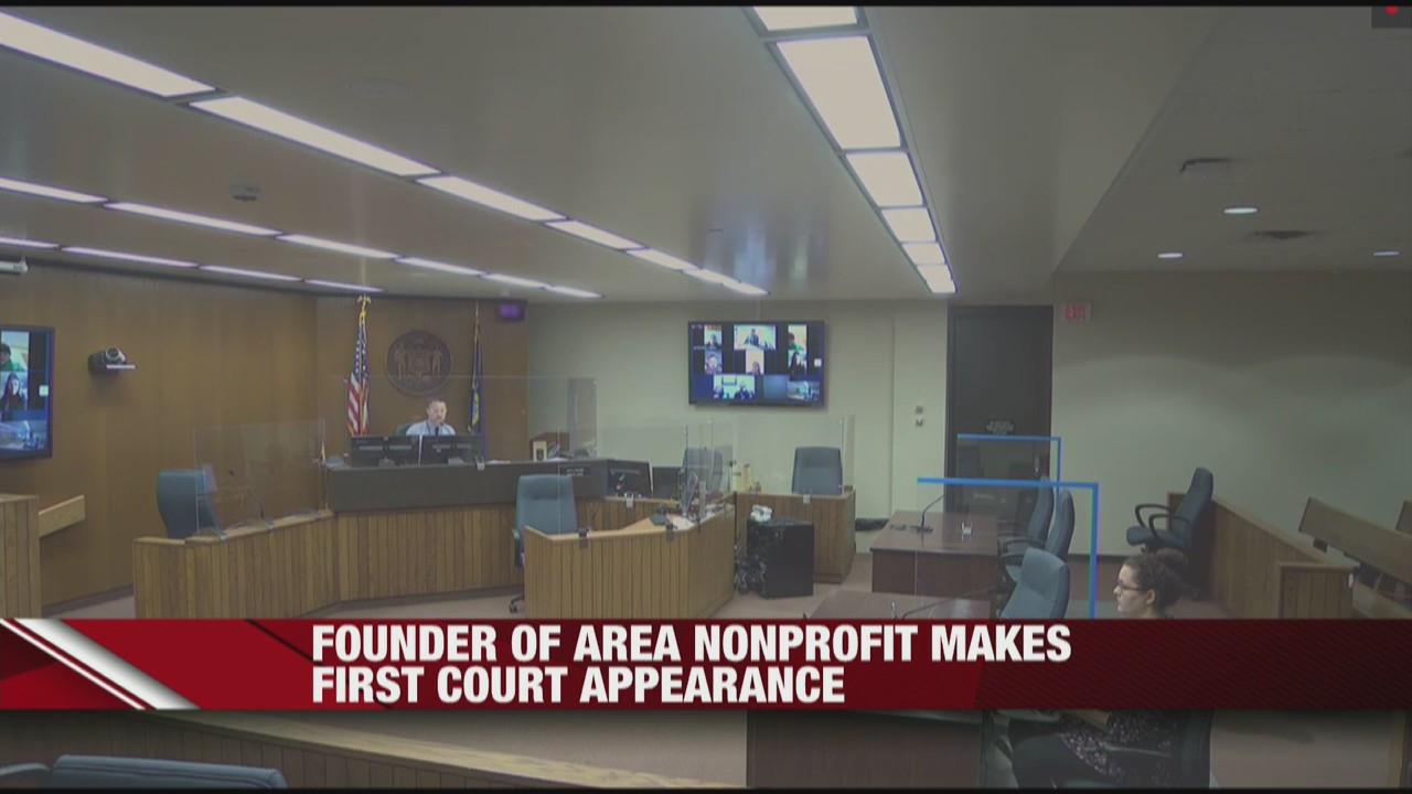 Fall Creek founder of area nonprofit makes first court appearance