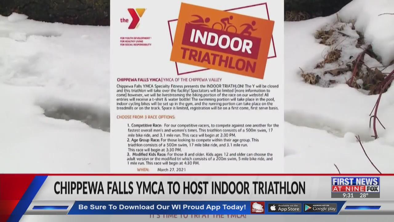 Chippewa Falls YMCA to host indoor triathlon