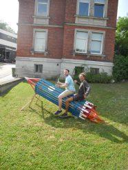 Moritz und Tim auf der Rakete, alles NEU