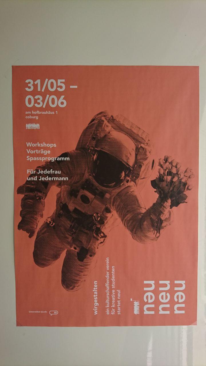 NEUstart- wir fliegen in den Weltraum