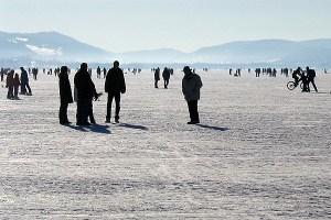 Wagen Sie sich nicht auf dünnes Eis, rät die DLRG. (Symbolfoto: stock.xchng)