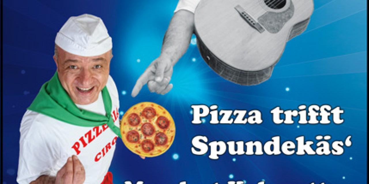 Pizza trifft Spundekäs am Guntersblumer Markt