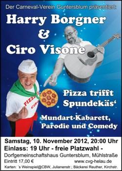 Pizza trifft Spundekäs am Guntersblumer Markt 1