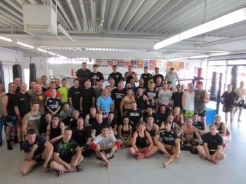 TVO Fighting Farmers  beim Tripel Impact Trainingscamp des Muay Thai Bund Deutschland e.V. 1