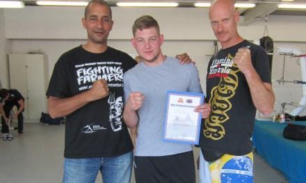 TVO Fighting Farmers  beim Tripel Impact Trainingscamp des Muay Thai Bund Deutschland e.V.
