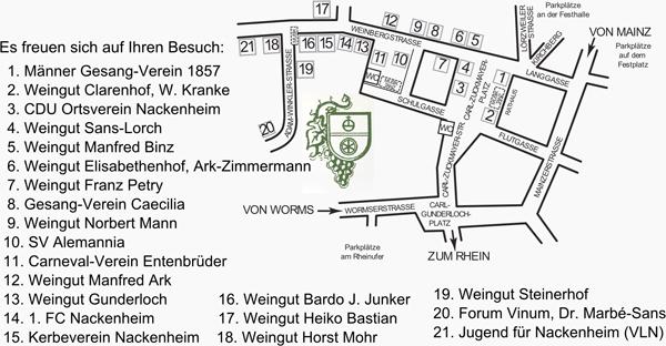 Plan Weinfest Nackenheim.