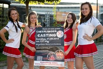 Die CHAOTE-CHEERLEADER laden am 01.09.2012 zum Casting ein. Mitmachen ist angesagt!