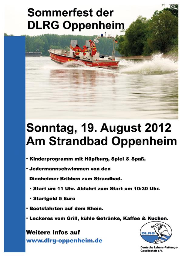 DLRG Oppenheim Sommerfest 2012