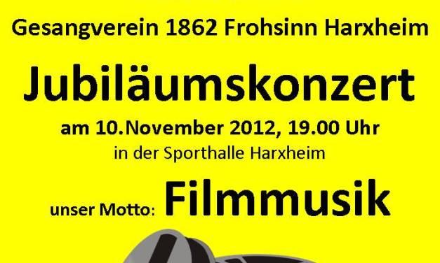 Der PopChor Harxheim lädt zum Jubiläumskonzert ein