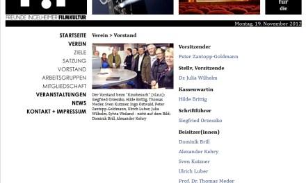 Ingelheimer Kino soll durch Verein F!F betrieben und gerettet werden