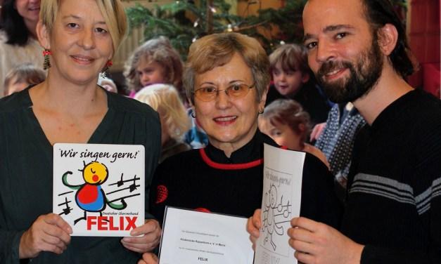 Mainzer Elterninitiative Rappelkiste mit Musikpreis FELIX ausgezeichnet