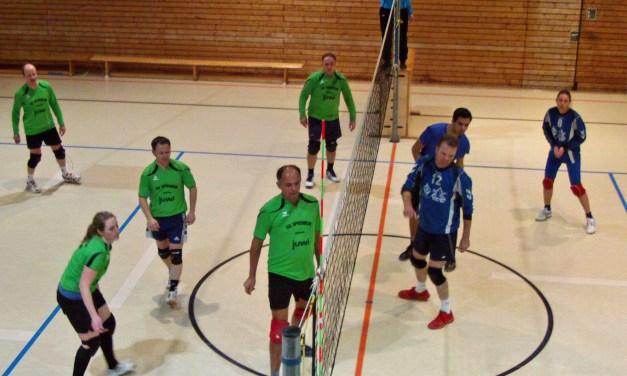 SG Spiesheims Mixedvolleyballer fast Spitzenreiter