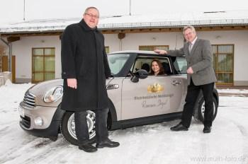 Fahrzeugübergabe an die Rheinhessische Weinkönigin 2012/2013 R