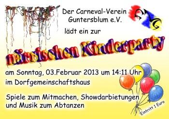 CVG Kinderparty