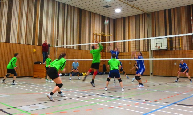 SG Spiesheim mit Volleyball-Doppelsieg