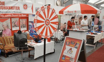 Die Johanniter auf der Rheinland-Pfalz-Ausstellung 2013