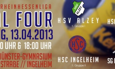 13.04.2013 Handball: A-Jugend Final-Four in Ingelheim