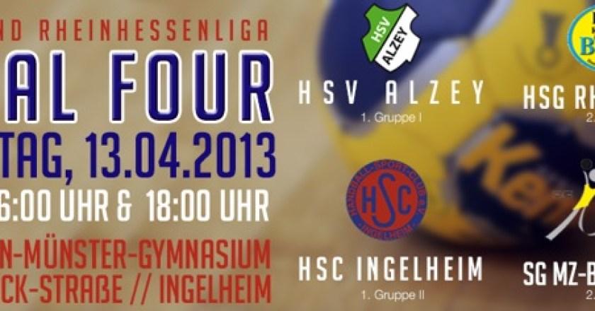 13.04.2013 Handball: A-Jugend Final-Four in Ingelheim