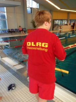 DLRG Schwimmfest am Start