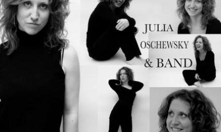 03.05.2013: Jazz in Bingen: Julia Oschewsky & Band – IndieJazz / SingerSongwriter aus Amsterdam!