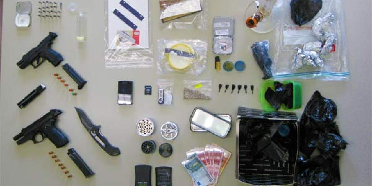 Wormser Polizei wird bei Drogenrazzia fündig