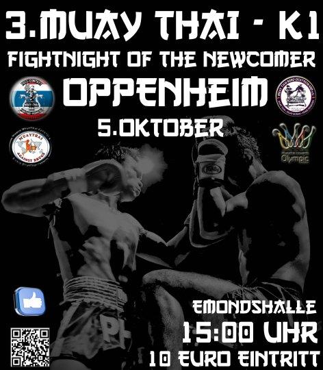 Muay Thai Gala Oppenheim 2013