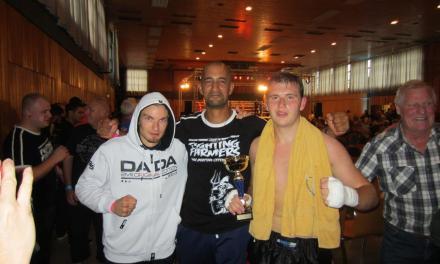 Grandioses Debüt der Thai Boxer des TV 1846  Oppenheim e.V.!
